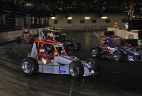 THE LURE OF THRILLING AUTO RACING, PLUS CHEAP GAS EQUALS COMPELLING RACING